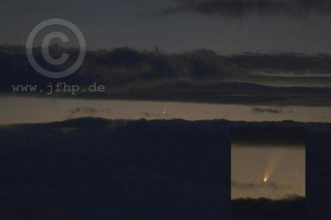 Komet McNaught am 11.01.2007
