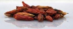 Die kleinen getrocknete Chilis aus dem Supermarkt (Malaya-Gewürze)