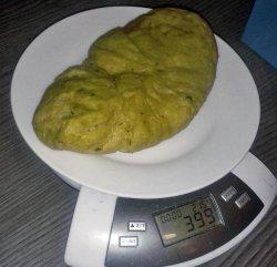 DIY Seitan bringt 399 Gramm auf die Waage