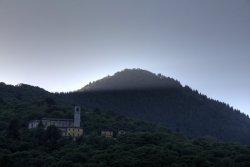 Sonnenuntergang über Sant' Agata bei Cannobio