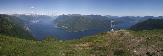 Lago Maggiore Panorama vom Monte Giove aus